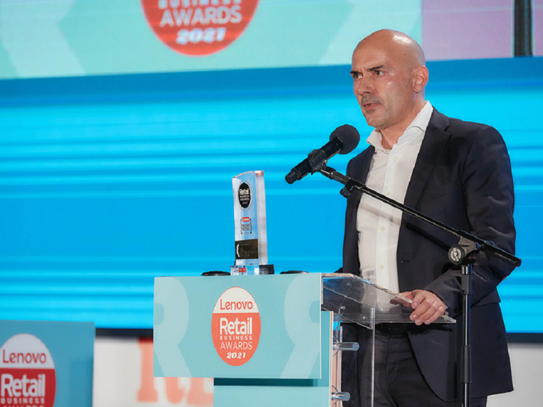 RETAIL MANAGER OF THE YEAR Ο ΠΡΟΕΔΡΟΣ ΔΙΟΙΚΗΣΗΣ ΤΗΣ LIDL HELLAS